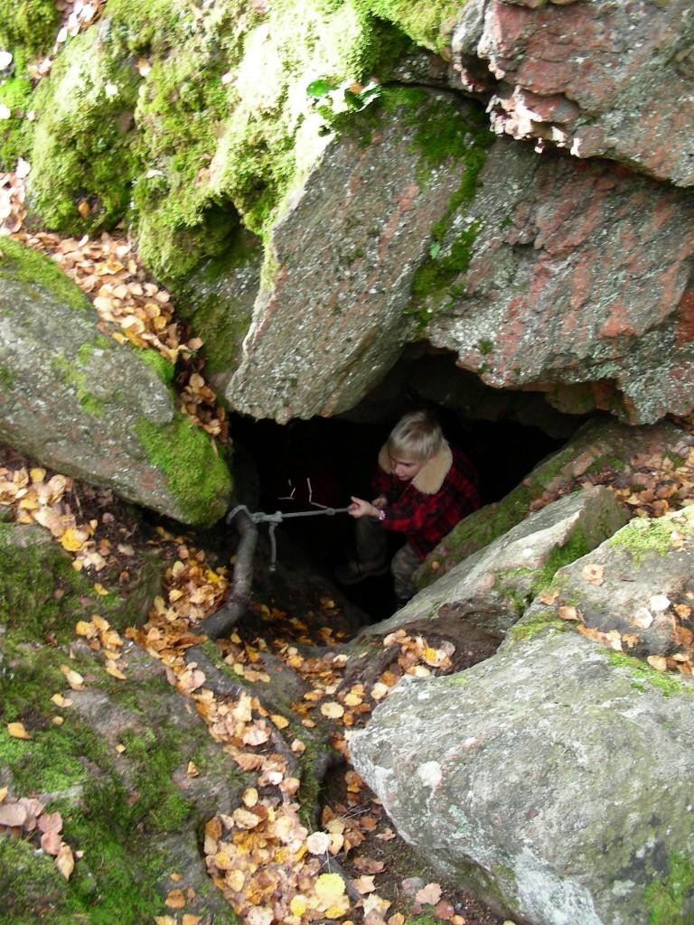 Grottutflykt