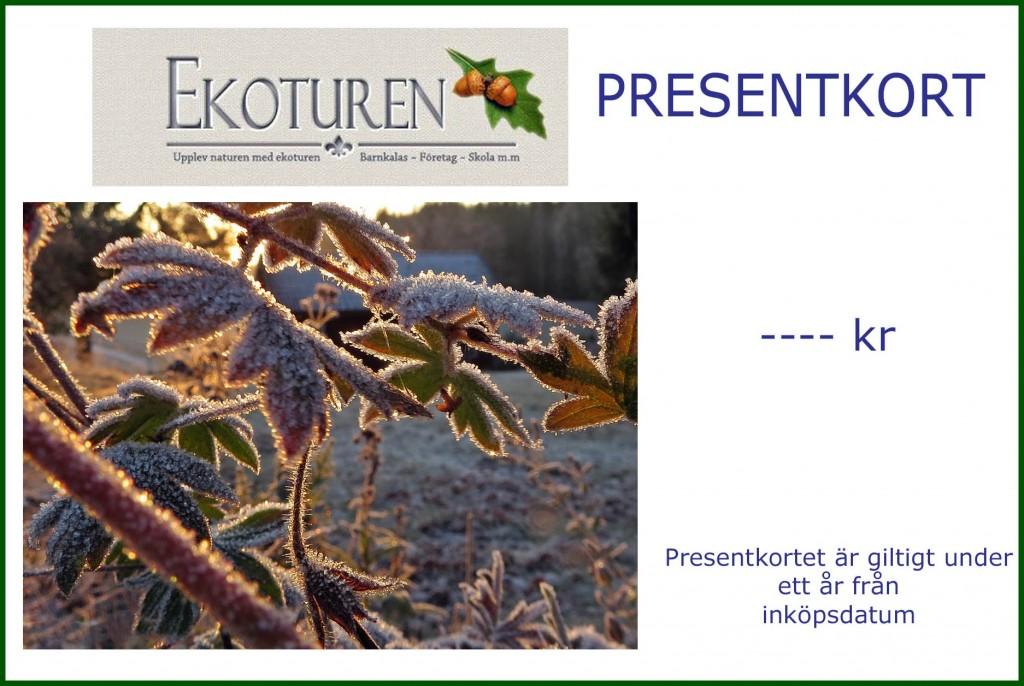 Ekoturen Presentkort